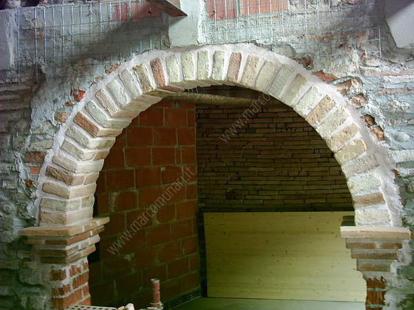 Arco con mattoni a vista decora la tua vita - Archi mattoni vista in cucina ...
