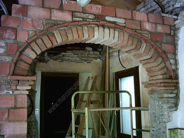 Lavori di casa for Arco in mattoni a vista