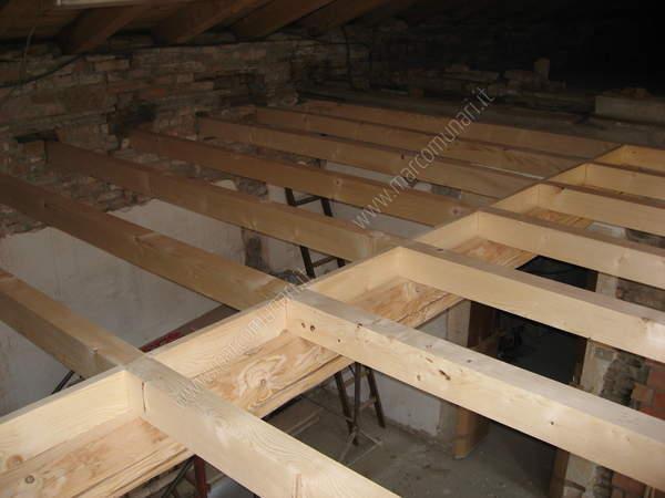 Demolizione Solaio In Legno.Marcomunari It Lavori Di Casa